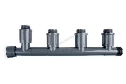 ☑ купить Фитинги с накидными гайками для монтажа электромагнитных клапанов