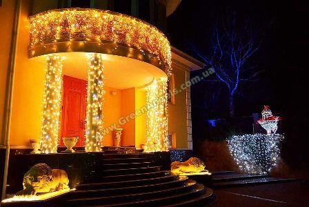 Фото освещения парадного входа в дом
